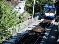 Киевский фуникулер закрыли для пассажиров