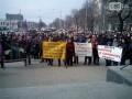 Предприниматели Запорожья собрались на митинг у мэрии
