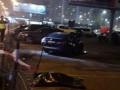 В Сети появилось видео страшного ДТП с Lexus на Осокорках