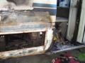 В Тернопольской области подожгли автобус депутата от Свободы