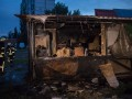 В Киеве на Березняках сгорело кафе
