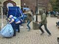 В центре Мариуполя атаковали палатки Оппоблока