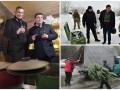 День в фото: Гройсман и Кличко с глинтвейном, Луценко на Донбассе и подготовка киевлян к праздникам
