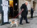 Премьер Британии Джонсон пришел на выборы с псом