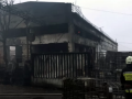 В Днепре сгорели три грузовика DAF и 300