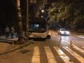 В аварии с участием автобуса в Запорожье пострадало шесть человек