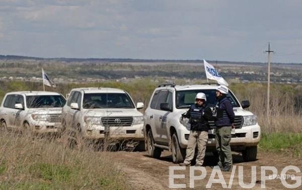 Наблюдатели миссии ОБСЕ на Донбассе