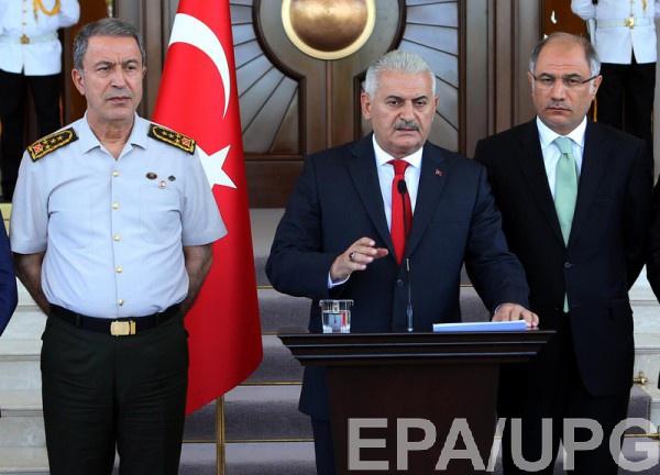 Премьер Турции заявил о возможности возвращения смертной казни