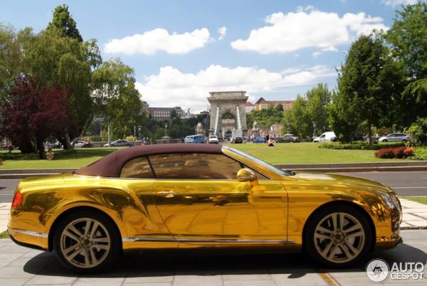 золотой бентли фото