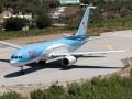 В Греции самолет