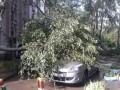 Винницу захлестнул ураган с ливнем