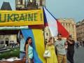 В Чехии стартовал символический майдан в поддержку Украины