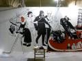 В Арсенале уничтожили картину о Врадиевке