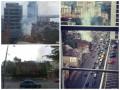 В центре Днепропетровска горит старинное здание