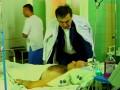 Стрельба в Одессе: Саакашвили почтил память убитого милиционера и проведал раненого