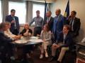 Украинская делегация в ПАСЕ преподнесла