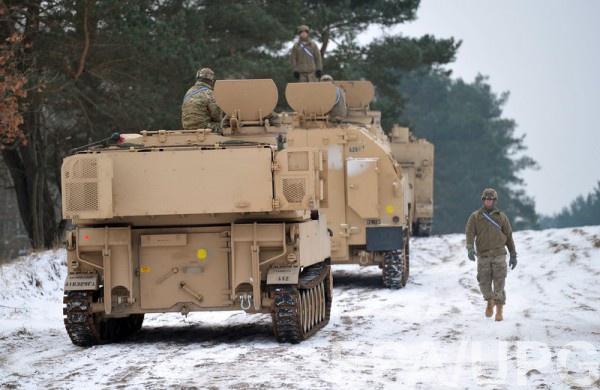 Военная техника США в Польше