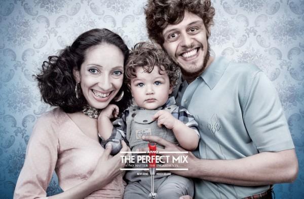 Некрасивые родители и красивые дети – креативная реклама миксера