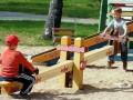 В Украине разрешили строить детские площадки на крышах