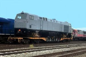 Первый локомотив из США отправился в Украину