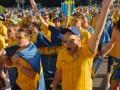 После матча со Швецией из фан-зоны Киева вывезли 150 кубометров мусора