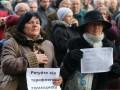 Тарифный геноцид: в Виннице митингующие штурмовали горсовет