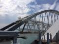 Крымский мост: оккупанты закончили укладку асфальта