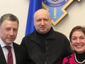 Турчинов обсудил с Волкером закон о Донбассе