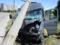 В Запорожье маршрутки за день сбили насмерть двух пешеходов