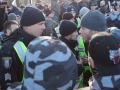 В Нацполиции объяснили, почему сносили палатки и задерживали митингующих