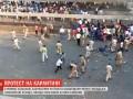 В Индии мигранты на карантине дрались с полицией