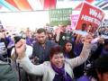 Против инаугурации Трампа: тысячи вышли на улицы Вашингтона