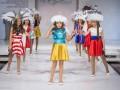 На показе детской моды в России инсценировали