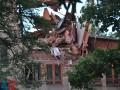 В оккупированном Донецке произошел взрыв: рухнула часть университета торговли