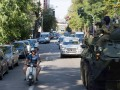 По Киеву проехала военная техника для парада