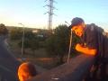 Патрульные Днепра отговорили мужчину прыгать с моста