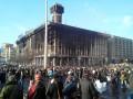 Бои в центре Киева прекратились – митингующие ждут решений Рады