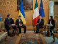 Зеленский встретился с премьер-министром Италии: О чем они говорили
