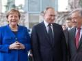 Меркель поговорила с Путиным на русском языке