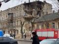 В Одессе ночью обвалился старинный дом