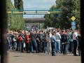 Тысячи работников завода устроили шествие в Минске