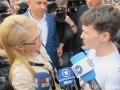 Надежда Савченко приехала к Батькивщине - СМИ