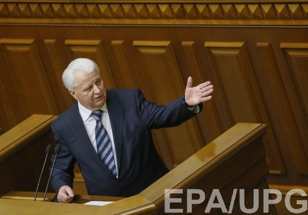 Кравчук рассказал, каким Украина принимала Крым