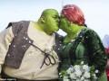 Свадьбу Шрека и Фионы сыграли в реальной жизни