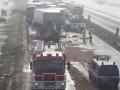 В Польше в ДТП попали более 70 автомобилей