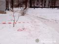 Полиция рассматривает несколько версий нападения на офицера в Харькове