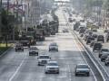 Генеральная репетиция парада не повредила асфальт - Киевавтодор