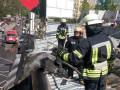 В Киеве на проспекте Победы горел магазин