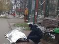 Под Киевом на глазах у прохожих умер мужчина