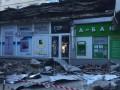 В Херсоне карниз здания упал на женщину